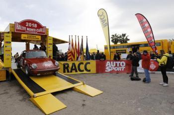Arranca en Barcelona la 21ª edición del Rallye Monte-Carlo Histórico