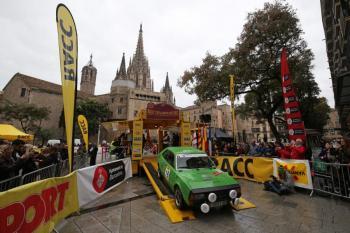 Rally Catalunya Històric: Andbank i Hilton Diagonal Mar Barcelona