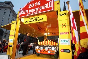 Este viernes, salida desde Barcelona del XX Rallye Monte-Carlo Histórico