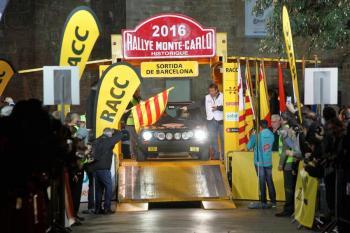 Barcelona: salida del Rallye Monte-Carlo Histórico viernes, 27 de enero, 16.30h