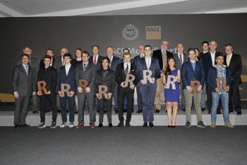 El RACC galardona a los mejores pilotos de 2017