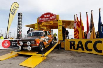 Barcelona acoge una salida nocturna del 22º Rallye Monte-Carlo Historique