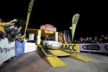 El 23è Rallye Monte-Carlo Historique surt des de Barcelona
