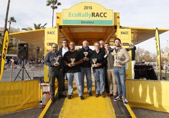 Nova victòria de la tecnologia híbrida a l'EcoRallyRACC
