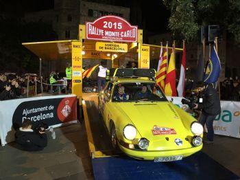 Arranca el Rallye Monte-Carlo Histórico desde Barcelona