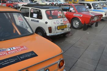 Demà divendres, sortida des de Barcelona del 19 Rallye Monte-Carlo Historique
