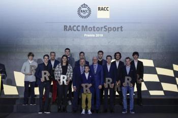 El RACC entrega els Premis RACCMotorSport2019 als seus pilots més destacats