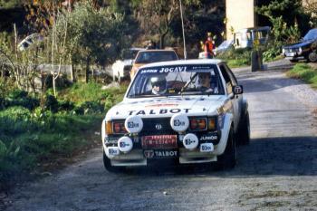 Antonio Zanini (Talbot Lotus) encapçalarà el Rally Catalunya Històric