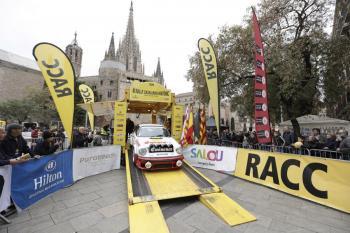 El 4t Rally Catalunya Històric-Rally de les Caves comença a rodar