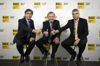 Aman Barfull pasa el relevo a Jordi Barrabés al frente del Área Deportiva del RACC