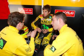 El planter del RACC, protagonista de MotoGP