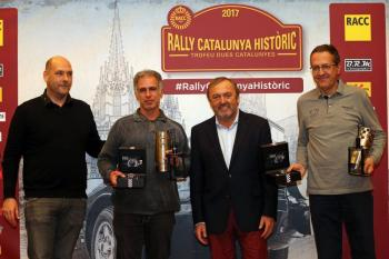 Carles Miró-Iván Matavacas (Porsche 911 SC) guanyen el 1r Rally Catalunya Històric