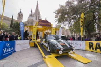 Start of the 2nd Rally Catalunya Històric -
