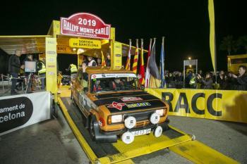 Barcelona acoge la salida del 22º Rallye Monte-Carlo Historique