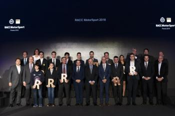 Els Premis RACC Motorsport reconeixen als Campions