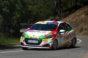 Aymerich más líder del Volant RACC tras ganar el Rallye Empordà