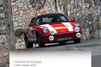 El 6º Rally Catalunya Històric los días 8 y 9 de abril de 2022