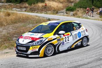 Larrosa más líder tras ganar en el Rallye Osona