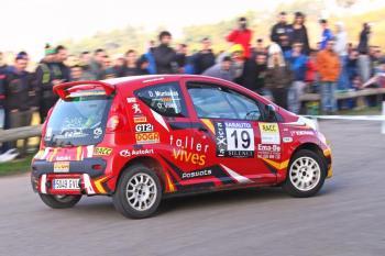 Victoria y título en el Volant RACC para para Muntadas en el Rallye 2000 Viratges