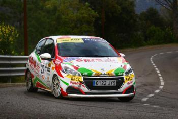 El Volant RACC a escena en el mítico Rallye Osona