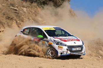 Victoria de Jordi Salinas en el Rallye Ciudad de Cervera del Volant RACC